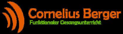 Gesangsunterricht Cornelius Berger