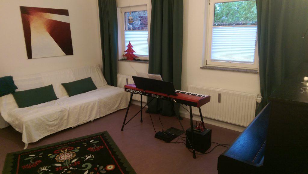 Gesangsstudio für Gesangsunterricht in Köln