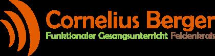 Gesangsunterricht und Feldenkrais Cornelius Berger